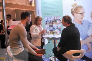 The London Women's Clinic explaining options to visitors