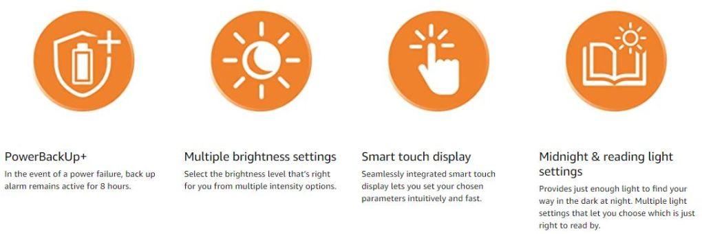 Philips SmartSleep Sleep and Wake up Light Therapy Lamp