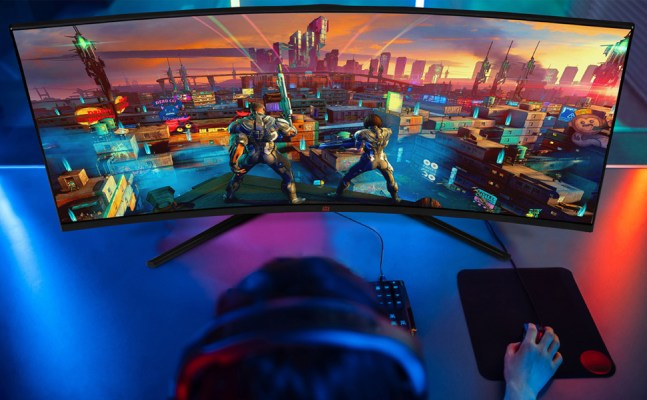 Deco Gear 35 Curved Ultrawide LED Gaming Monitor