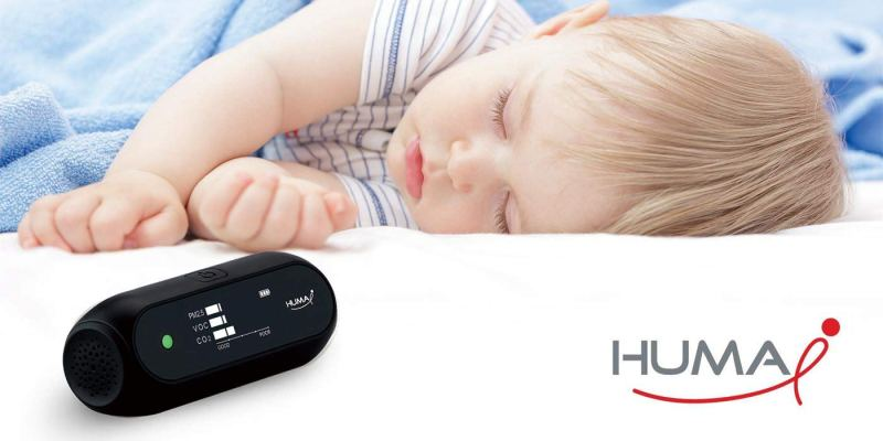 Huma i Advanced Portable Air Quality Monitor