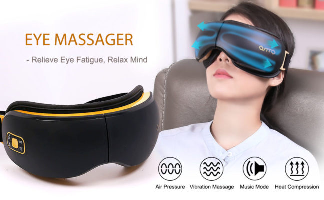 OSITO Rechargeable Eye Massager with Heat for Dry Eye