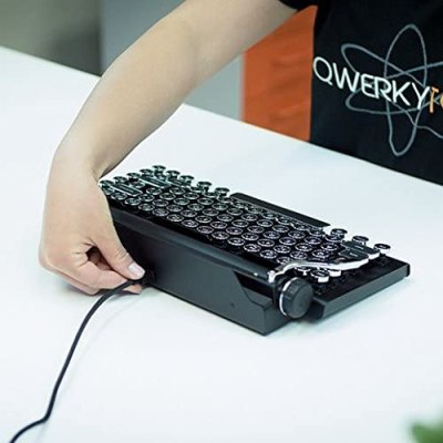 qwerkywriter s typewriter inspired keyboard