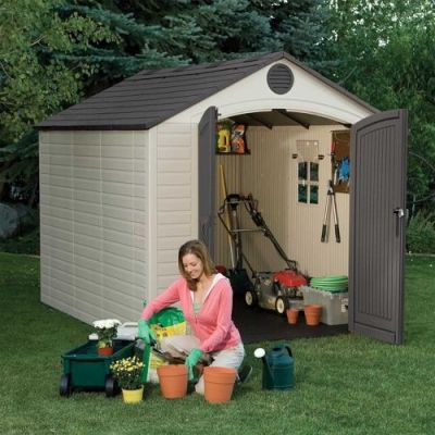 Lifetime 6405 Outdoor Storage Shed 1 1