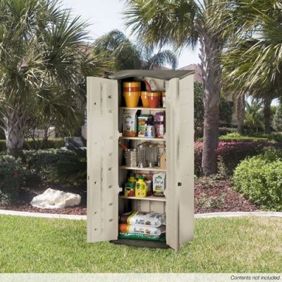 Rubbermaid Vertical Outdoor Storage Shed