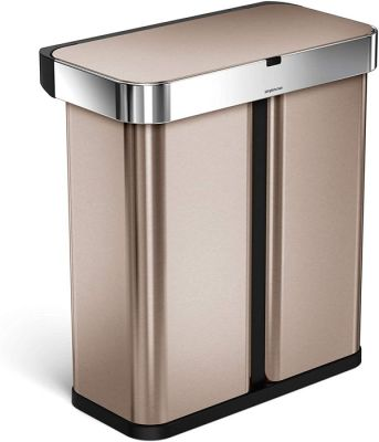 Simplehuman Trash Can with Voice and Motion Sensor