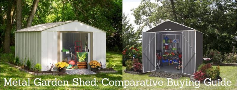 Metal Garden Shed Comparative Buying Guide