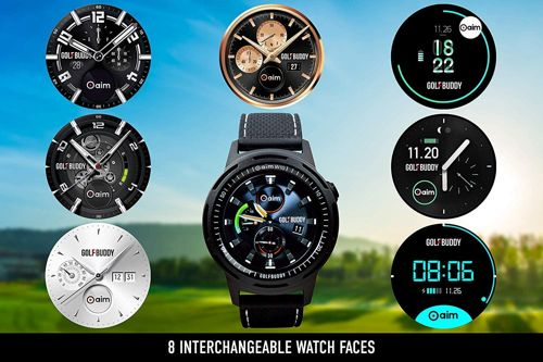 Golf Buddy Aim W10 GPS Watch aims