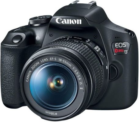 Canon EOS Rebel T7 DSLR Camera with 18 55mm lens