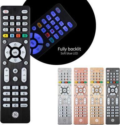 GE Backlit Universal Remote Control