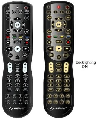 Inteset 4 in 1 Universal Backlit IR Learning Remotes