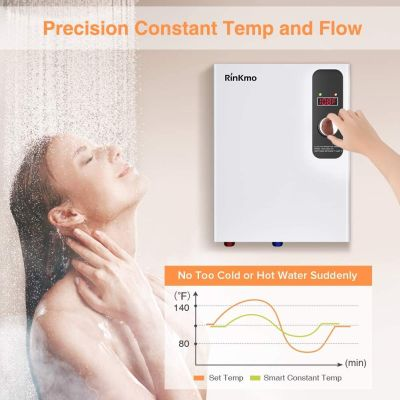 Rinkmo Electric Tankless Water Heater 18KW 240V