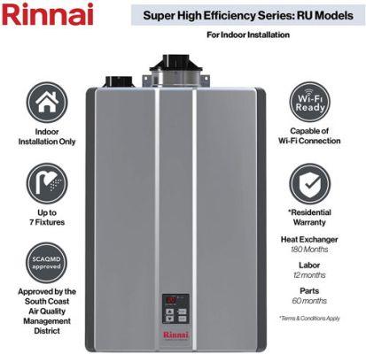 Rinnai Sensei Super High Efficiency Tankless Water Heater