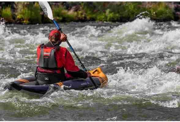 Aquaglide McKenzie 105 Inflatable Kayak 1