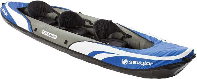 Sevylor Big Basin 3 Person Best Whitewater Kayaks