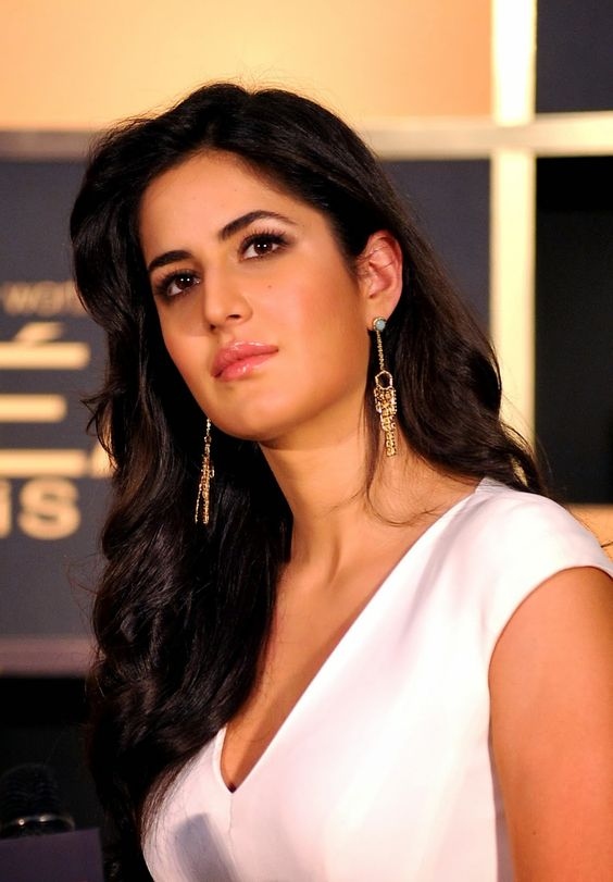 Indian Bollywood actress Katrina Kaif brand ambassador for L'Oreal Paris poses at the launch of a new product range in Mumbai on February 4, 2014. AFP PHOTO/STR