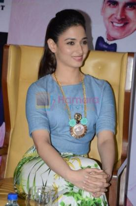 Tamannaah Bhatia at the promotion of movie It's entertainment in south on 4th Aug 2014 shown to user