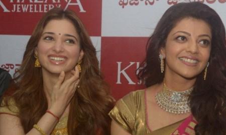 kajal-agarwal-tamanna-photos-at-khazana-jewellery-launch-1