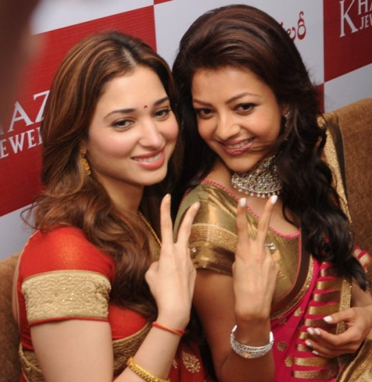 kajal-agarwal-tamanna-photos-at-khazana-jewellery-launch-2
