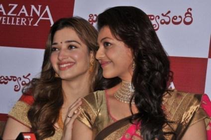 Tamannaah and Kajal