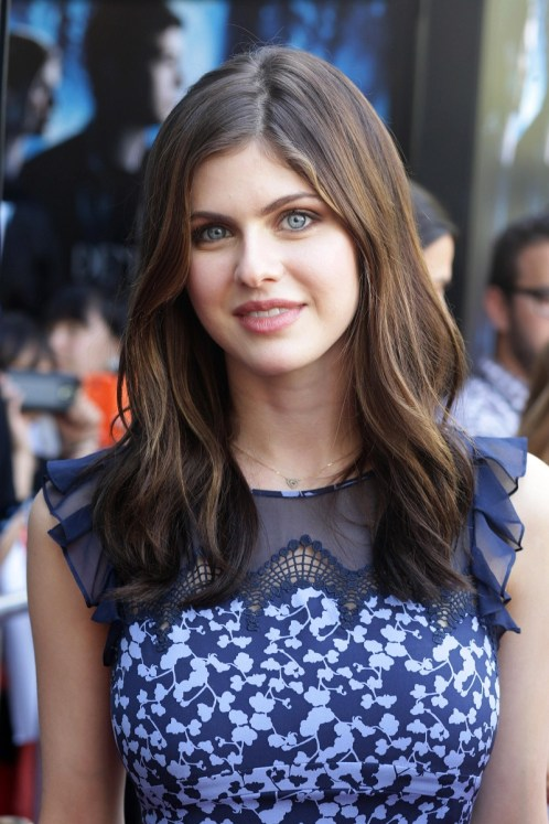 Alexandra Daddario seen at Twentieth Century Fox and Fox 2000 Present 'Percy Jackson: Sea of Monsters' special fan screening, on Wednesday, July, 31, 2013 in Los Angeles, Calif. (Photo by Eric Charbonneau/Invision for Twentieth Century Fox/AP Images)