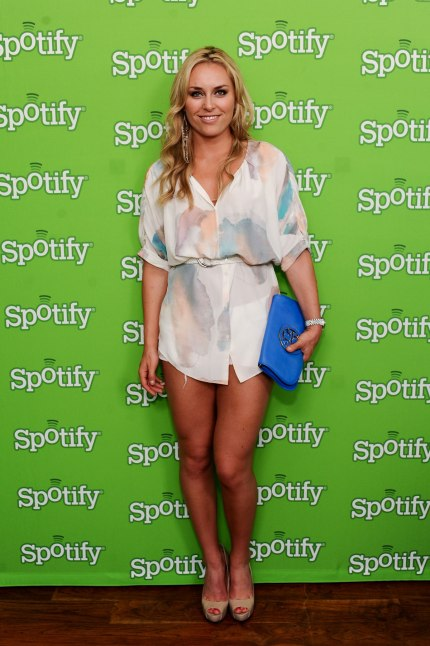 LINDSEY VONN at Spotify Quincy Jones Media Event in Hollywood