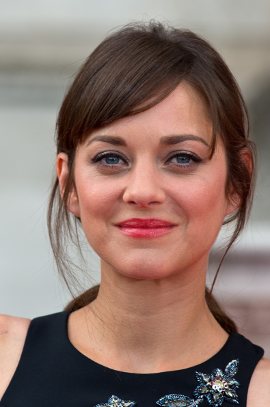 "LONDON, ENGLAND - AUGUST 07: Marion Cotillard attends the UK Premiere of ""Two Days, One Night"" at Somerset House on August 7, 2014 in London, England. (Photo by Ben Pruchnie/FilmMagic)"