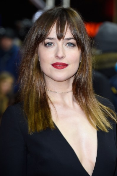 BERLIN, GERMANY - FEBRUARY 11: Actress Dakota Johnson attends the 'Fifty Shades of Grey' premiere during the 65th Berlinale International Film Festival at Zoo Palast on February 11, 2015 in Berlin, Germany. (Photo by Pascal Le Segretain/Getty Images)