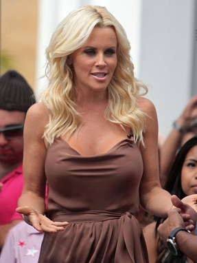 Jenny McCarthy Celebrities at The Grove to appear on entertainment news show 'Extra' Los Angeles, California - 31.05.12 Mandatory Credit: Josiah True/ WENN.com