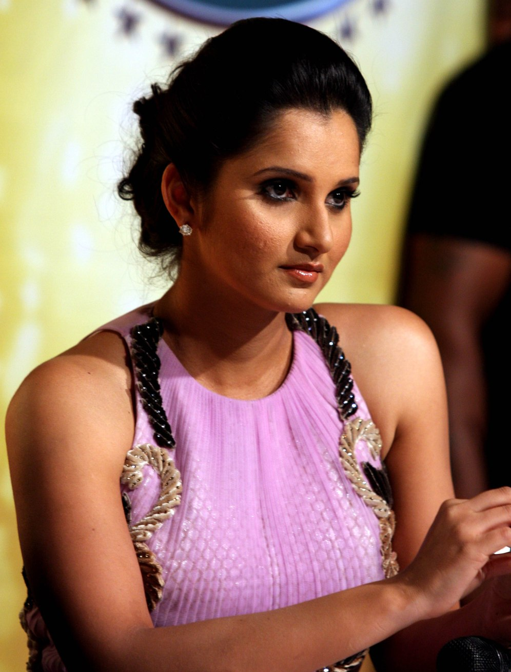 Indian Tennis player Sania Mirza unveiled as Special Jodi for Nach Baliye 5 at Filmistan Studios in Goregaon, Mumbai. (Photo: IANS)