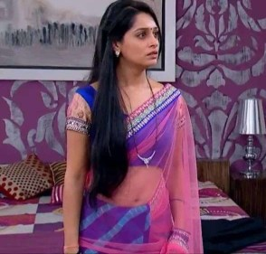 Dipika Kakar Pics Sasural Simar Ki actress naval cleavage in saree