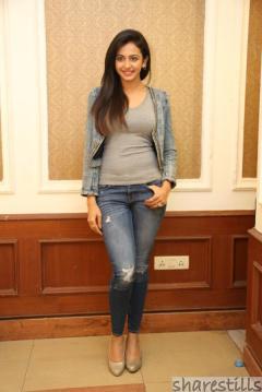 rakul-preet-singh-jeans-photos-at-rough-movie-success-meet-1