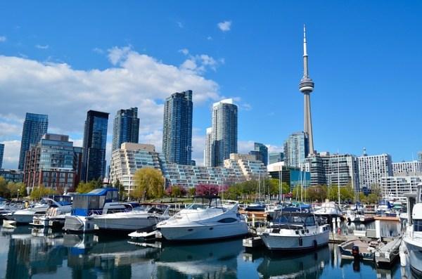 カナダ最大の都市、トロント