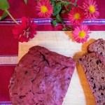 ビーツチョコレートケーキのレシピ