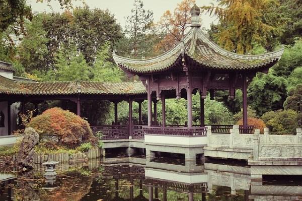 中華式ガーデン