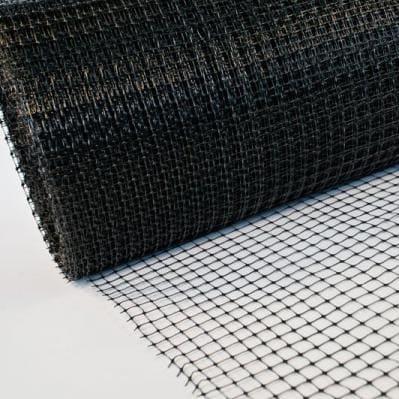 сітка пластикова вольєрного чорна