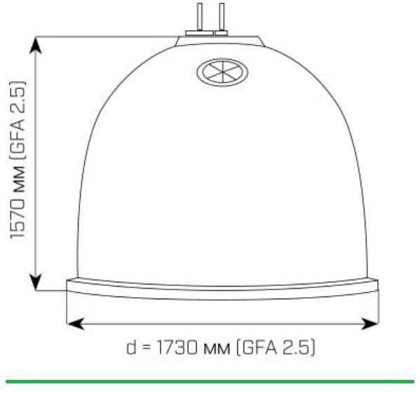 контейнер для роздільного збору сміття зі склопластику