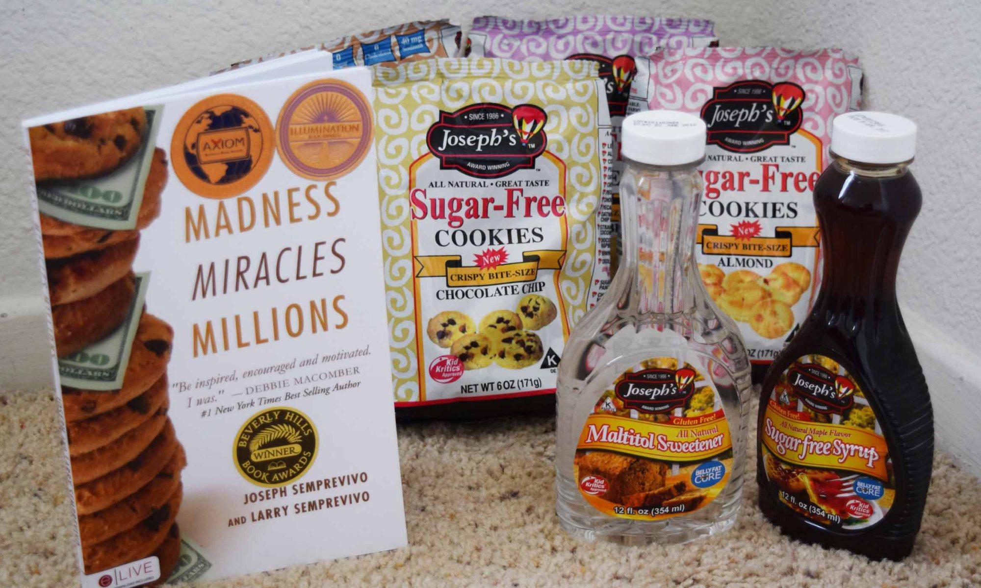 Joseph's Sugar Free Cookies