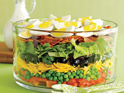Delicious Layered Salad Recipe
