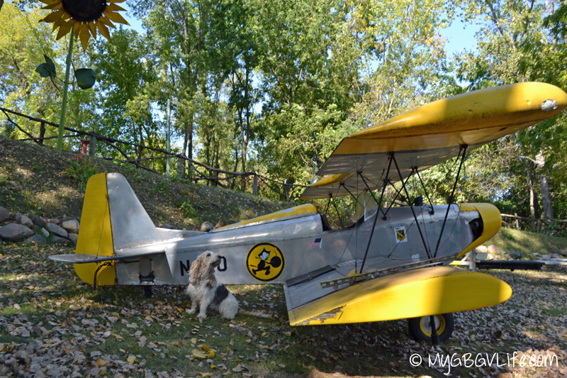 GBGV yellow plane