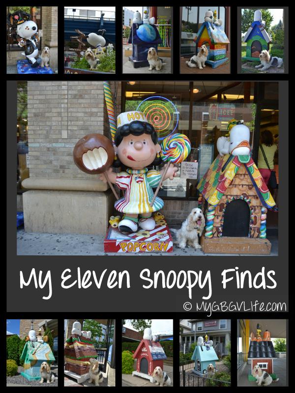 http://MyGBGVLife.com Emma's Snoopy finds