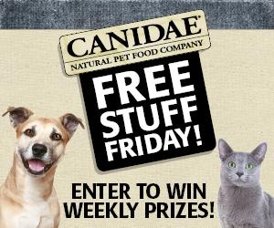 CANIDAE Free Stuff Friday-300x250