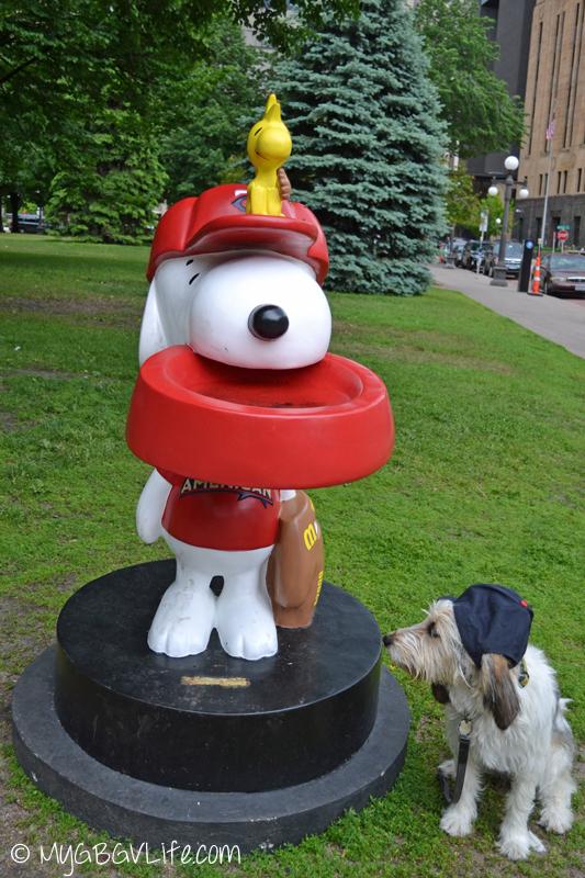 My GBGV Life Bailie and Snoopy