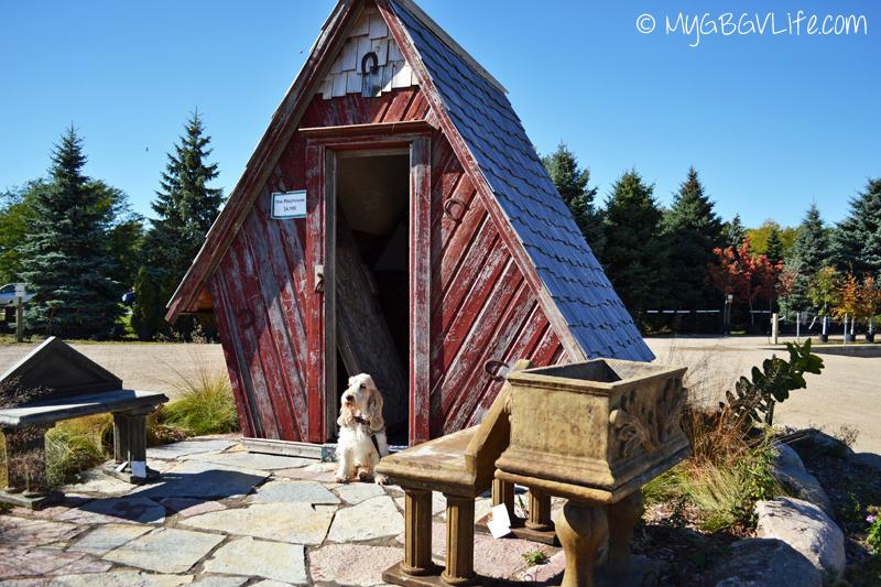 My GBGV Life little house at the garden center