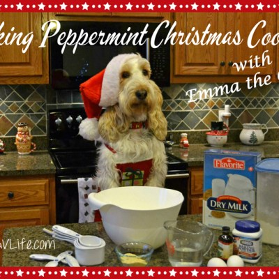 Christmas Baking – Peppermint Cookies