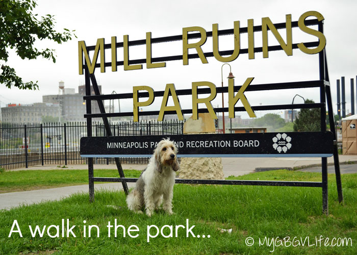 My GBGV Life walking in Mill Ruins Park