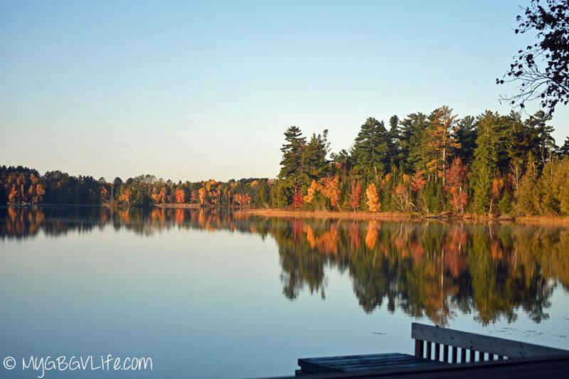 My GBGV Life colored leaves at half moon lake