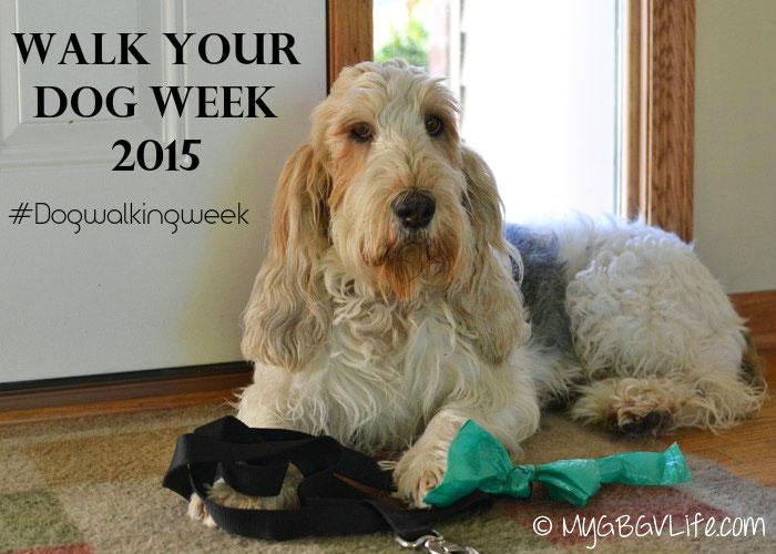 My GBGV Life walk your dog week