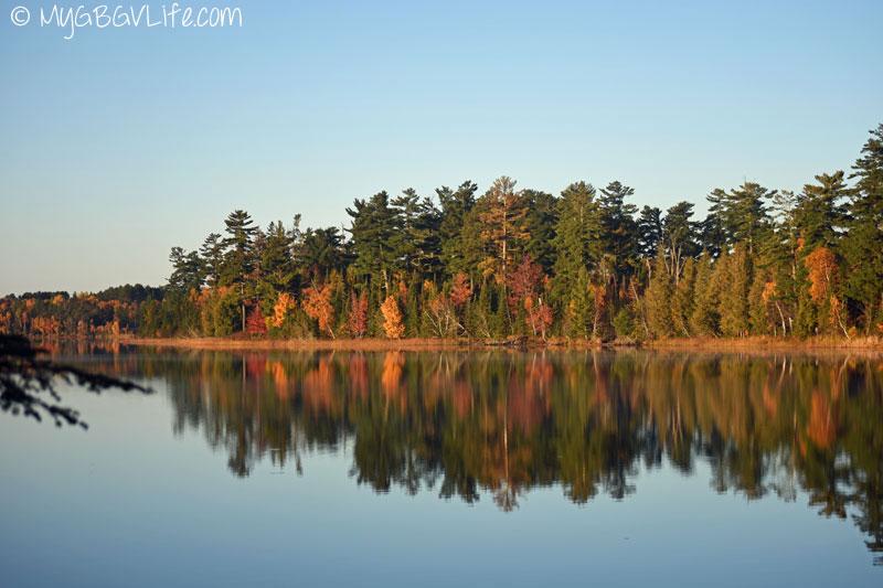 My GBGV Life sunrise on half moon lake
