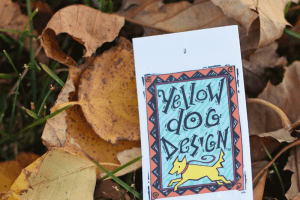 My GBGV Life yellow dog design
