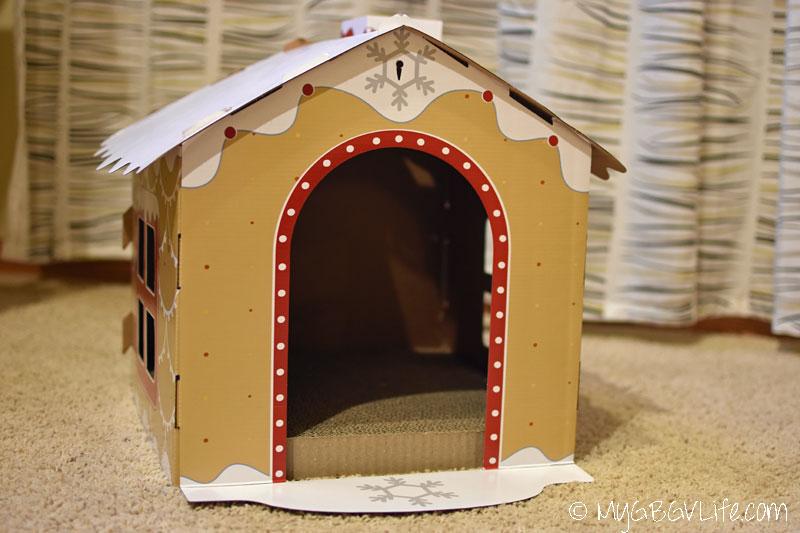 My GBGV Life gingerbread scratcher house